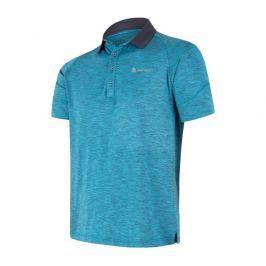 Pánské funkční triko polo Sensor Motion Velikost: L / Barva: modrá