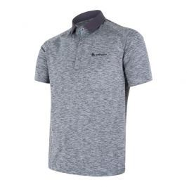 Pánské funkční triko polo Sensor Motion Velikost: XL / Barva: šedá