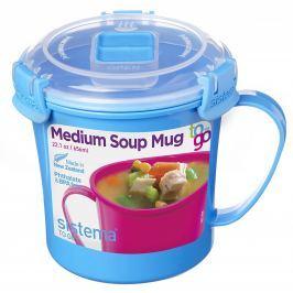 Hrnek Sistema Microwave Medium Soup Mug Barva: modrá