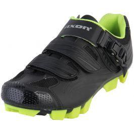 Pánské cyklistické tretry Axon Edge Velikost bot: 44 / Barva: černá