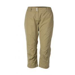Dámské 3/4 kalhoty Northfinder Lilyanna Velikost: XL / Barva: béžová