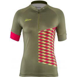 Dámský cyklo dres Silvini Sabatini WD1207 Velikost: L / Barva: zelená