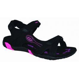 Dámské sandály Loap Caffa Velikost bot (EU): 37 / Barva: černá/růžová
