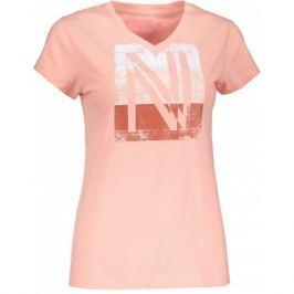 Dámské triko Nordblanc Coating Velikost: M (38) / Barva: světle růžová