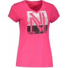 Dámské triko Nordblanc Coating Velikost: L (40) / Barva: růžová