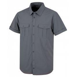 Pánská košile Husky Gomy M Velikost: L / Barva: šedá