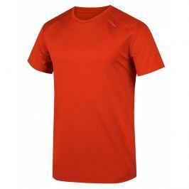 Pánské funkční triko Husky Telly M Velikost: XXL / Barva: červená