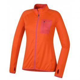 Dámská mikina Husky Tarr Zip L Velikost: M / Barva: oranžová