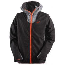 2117 of Sweden Pánská softshelová bunda 2117 Invik Velikost: L / Barva: černá/oranžová