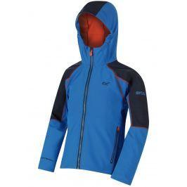 Dětská softshellová bunda Regatta Acidity II Dětská velikost: 128 / Barva: modrá