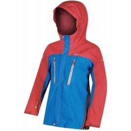 Dětská bunda Regatta Hipoint Str III Dětská velikost: 128 / Barva: červená/modrá