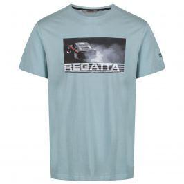 Pánské triko Regatta Cline II Velikost: L / Barva: zelená