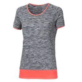 Dámské triko Progress Lakota 43OD Velikost: S / Barva: černá/růžová Dámská trička