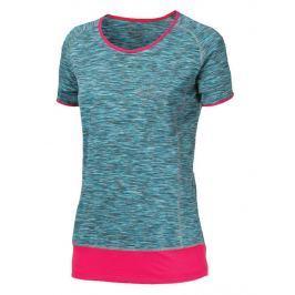 Dámské triko Progress Lakota 43OD Velikost: S / Barva: modrá/růžová