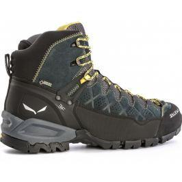 Pánské boty Salewa MS Alp Trainer MID GTX Velikost bot (EU): 46,5 (UK 11,5) / Barva: šedá/zelená Pánská obuv