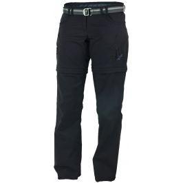 Dámské kalhoty Warmpeace Rivera Zip-Off Lady Velikost: XL / Délka kalhot: long / Barva: černá