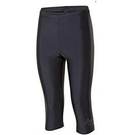 Dámské 3/4 cyklo kalhoty Progress Simple L 3Q 21VD Velikost: M / Barva: černá Cyklistické kalhoty