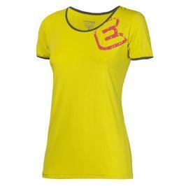 Dámské triko Progress Imola 23OT Velikost: M / Barva: žlutá Dámská trička