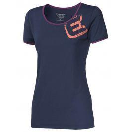 Dámské triko Progress Imola 23OT Velikost: M / Barva: tmavě modrá Dámská trička