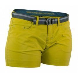 Dámské šortky Warmpeace Mira Lady Velikost: XL / Barva: žlutá Dámské šortky
