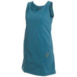 Šaty Warmpeace Sunday Best Velikost: L / Barva: modrá Dámské šaty