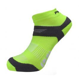 Ponožky Progress RNS 8JB Running Sox Velikost ponožek: 35-38 (3-5) / Barva: žlutá Pánské ponožky