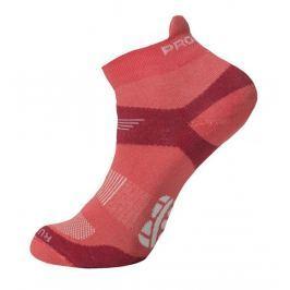 Ponožky Progress RNS 8JB Running Sox Velikost ponožek: 39-42 (6-8) / Barva: růžová