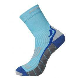 Ponožky Progress Running High Sox Velikost ponožek: 35-38 / Barva: modrá/šedá Pánské ponožky