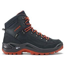 Pánské boty Lowa Renegade GTX Mid Velikost bot (EU): 46,5 (UK 11,5) / Barva: modrá Pánská obuv