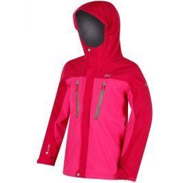 Dětská bunda Regatta Hipoint Str III Dětská velikost 128 / Barva: červená