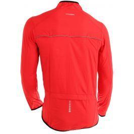 Pánská větrovka Axon Nippon Velikost: L / Barva: červená Cyklistické bundy a vesty
