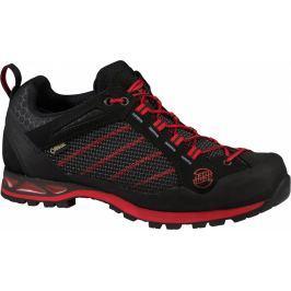 Pánské boty Hanwag Makra Low GTX Velikost bot (EU): 43 / Barva: černá/červená Pánská obuv