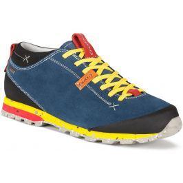 Boty AKU Bellamont Suede GTX Velikost bot (EU): 39,5 (6) / Barva: modrá/žlutá Pánská obuv
