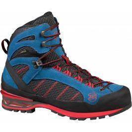 Pánské boty Hanwag Makra Combi GTX Velikost bot (EU): 45 / Barva: modrá/červená Pánská obuv
