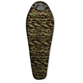 Spacák Trimm Traper 185 cm Zip: Pravý / Barva: maskáč