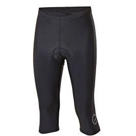 Pánské 3/4 cyklo kalhoty Progress Simple M 3Q 21LD Velikost: L / Barva: černá Cyklistické kalhoty