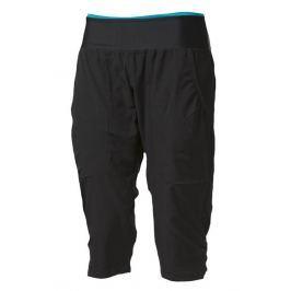 Dámské 3/4 kalhoty Progress Sahara 24LG Velikost: S / Barva: černá/modrá Dámské šortky