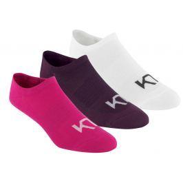 Dámské ponožky Kari Traa Hæl 3 Pk Velikost ponožek: 36-38 / Barva: růžová Pánské ponožky
