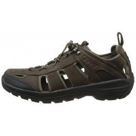 Pánské sandály Teva Kimtah Sandal Leather Velikost bot (EU): 43 (10) / Barva: hnědá