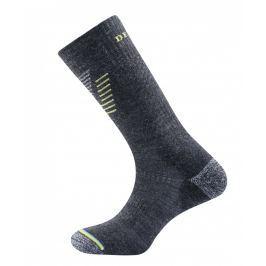 Ponožky Devold Hiking Medium Sock Velikost ponožek: 35-37 / Barva: šedá Pánské ponožky