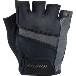 Pánské cyklistické rukavice Silvini Liro Velikost: L / Barva: černá Cyklistické rukavice