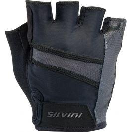 Pánské cyklistické rukavice Silvini Liro Velikost: M / Barva: černá Cyklistické rukavice