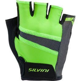 Pánské cyklistické rukavice Silvini Liro Velikost: XL / Barva: zelená