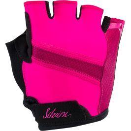 Dámské cyklistické rukavice Silvini Enna Velikost: S / Barva: růžová Cyklistické rukavice
