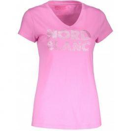 Dámské triko Nordblanc Rattle Velikost: XL (42) / Barva: růžová Dámská trička