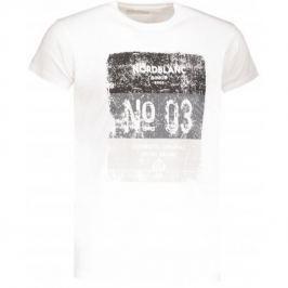 Pánské triko Nordblanc Sheet Velikost: M / Barva: bílá Pánská trička