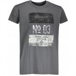Pánské triko Nordblanc Sheet Velikost: M / Barva: šedá Pánská trička