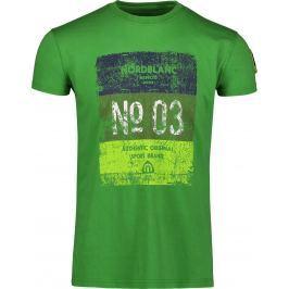 Pánské triko Nordblanc Sheet Velikost: M / Barva: zelená Pánská trička