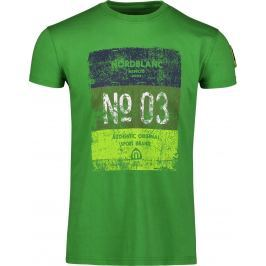 Pánské triko Nordblanc Sheet Velikost: XL / Barva: zelená