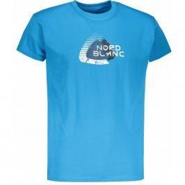 Pánské triko Nordblanc Remiss Velikost: M / Barva: modrá Pánská trička